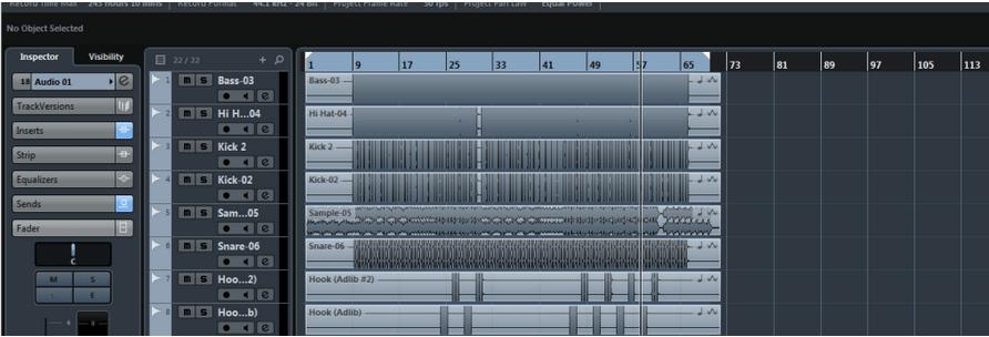 Export Audio Mixdown