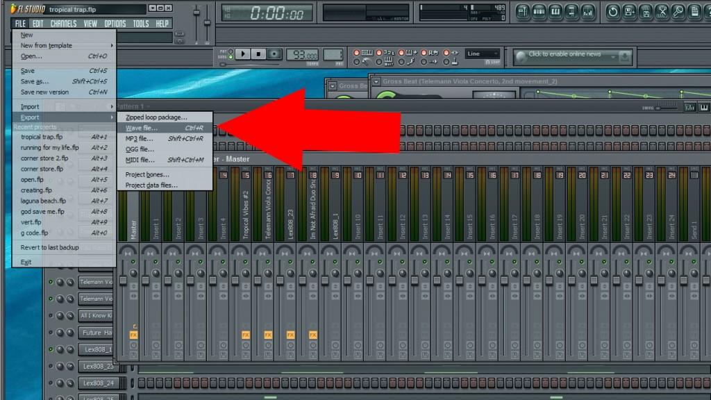 Fl Studio Group Tracks Stem