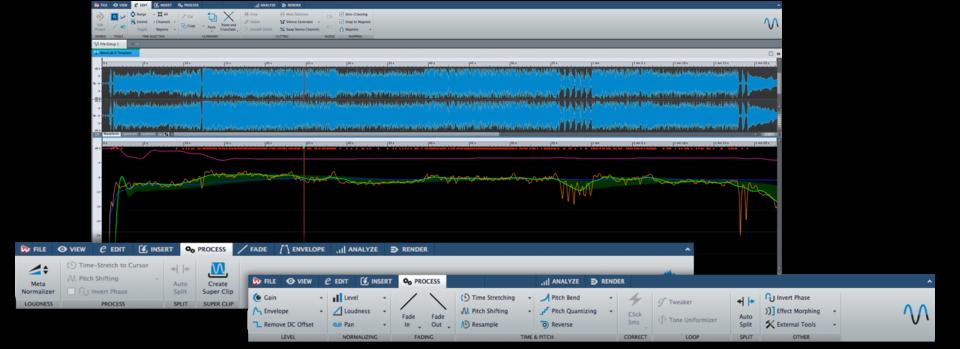 Wavelab Ebu Loudness Metering Measurement Processing