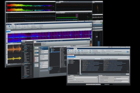 Wavelab Professional Program Layout