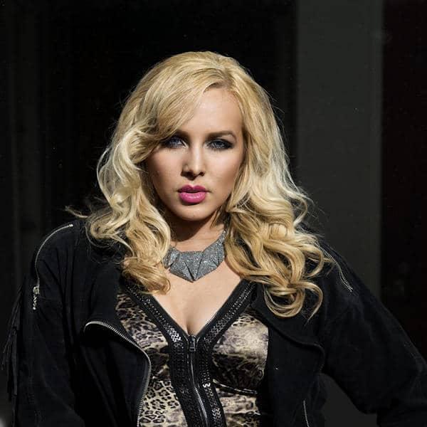Vocalist Ginny Luke